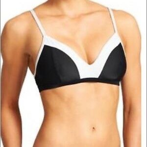 Athleta | Black & White Bikini Top